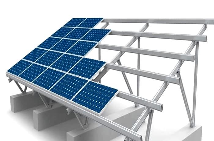 khung gia do solar